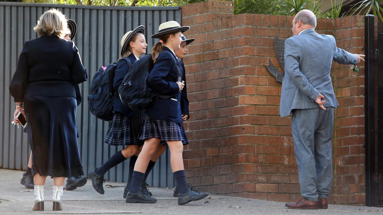 The Prime Minister says we will 'undoubtedly' get new virus cases as schools re-open. Picture: Richard Dobson