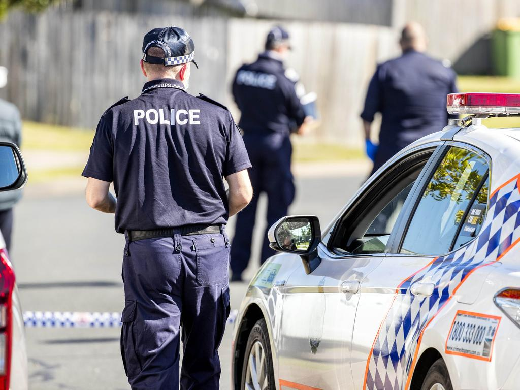 Police allege the brawl broke out at 5pm on Tuesday over an undisclosed property dispute. Picture: Richard Walker