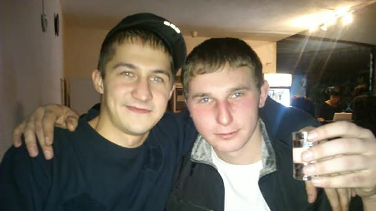 Oleg Sviridov (left) is dead after reportedly showing his friend a video of him raping his own daughter. Picture: East2West