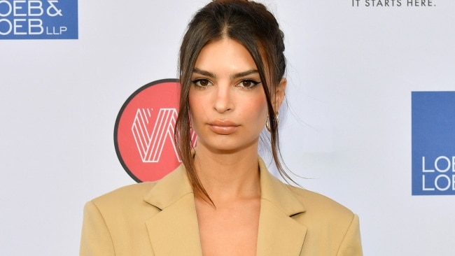 Emily Ratajkowski claims she was groped by Robin Thicke on the set of the Blurred Lines filmclip in her new book, My Body. Picture: Dia Dipasupil/Getty Images