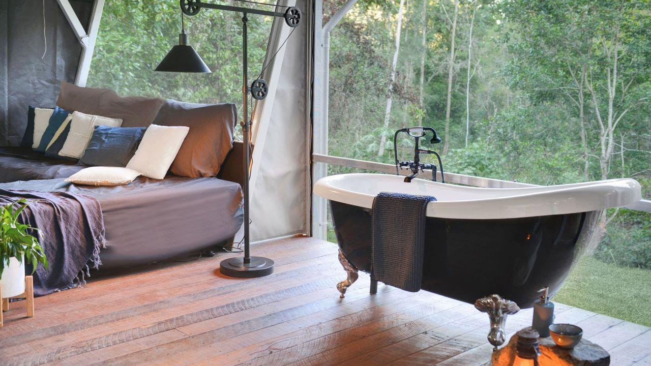 Starry Nights is the newest addition to the Queensland glamping scene. Picture: Starry Nights