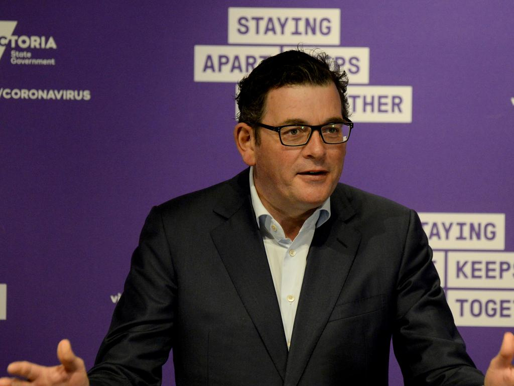 Time will tell how voters react to Daniel Andrews' virus regime. Picture: NCA NewsWire / Andrew Henshaw