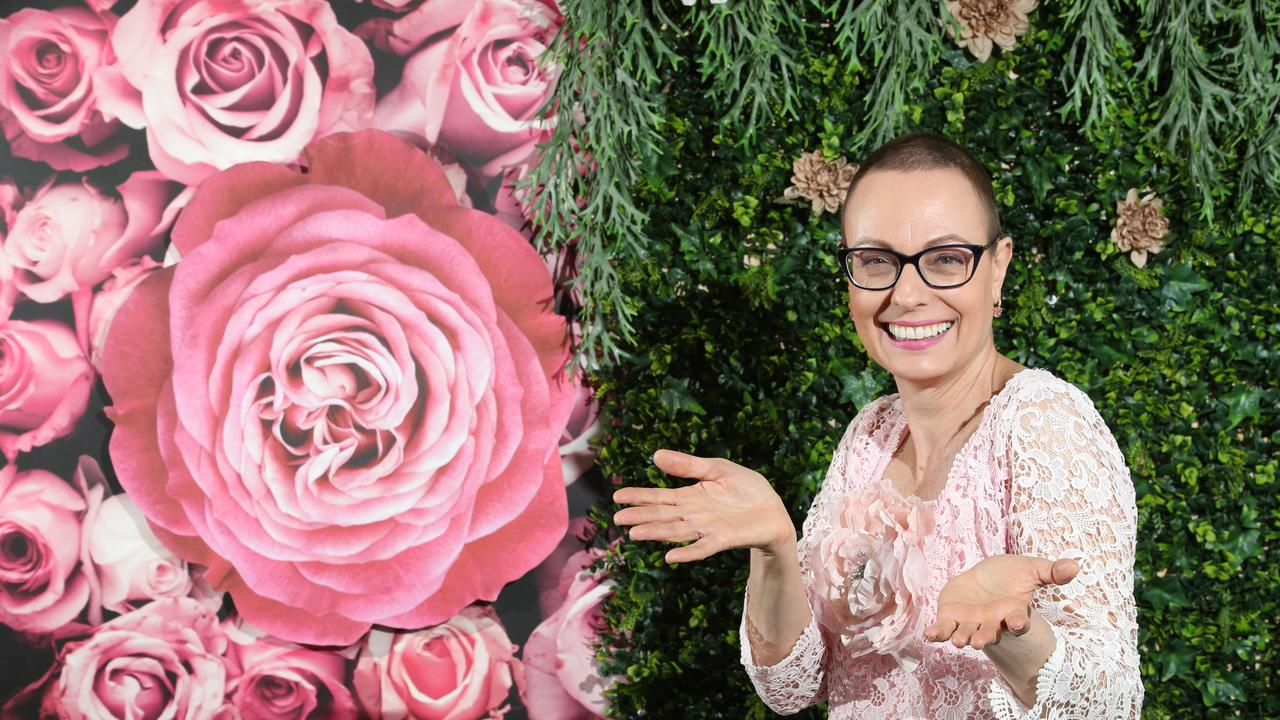ABC breakfast presenter Nicole Dyer, is the ambassador for the turf club's Pink Ribbon Cup Race Day. Nicole was diagnosed with aggressive breast cancer in February and has now completed chemo and surgery and the prognosis is great. Picture Glenn Hampson