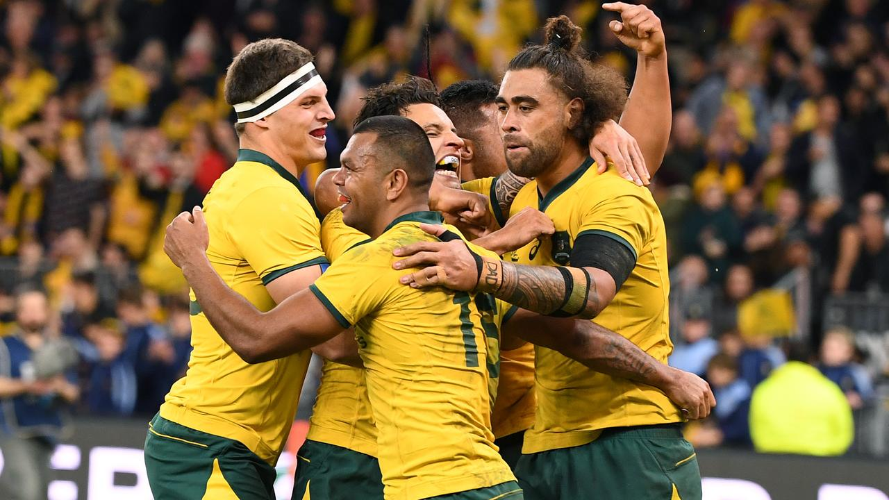 Wallabies fans could still get a taste of Test rugby in 2020. (AAP Image/Dave Hunt)