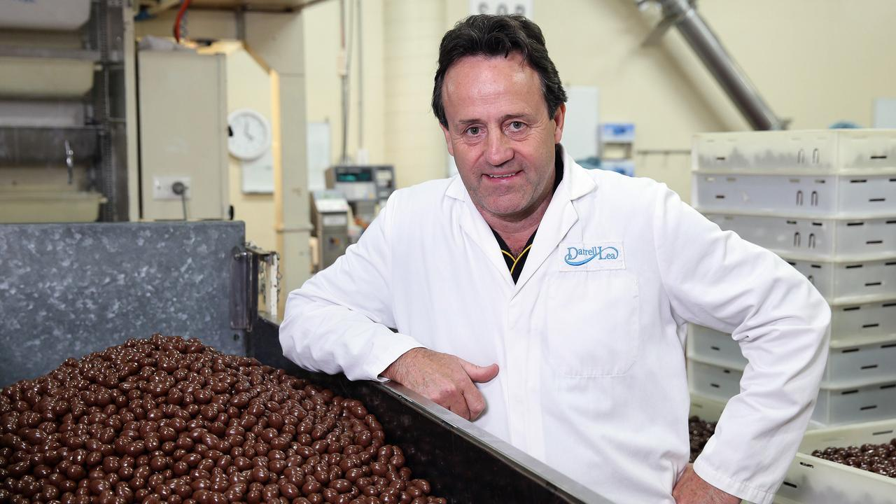 Tony Quinn is the former owner of Darrell Lea confectionary.