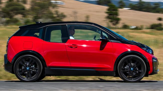 BMW i3s electric hatch: Update released this week, from just under $69,000.