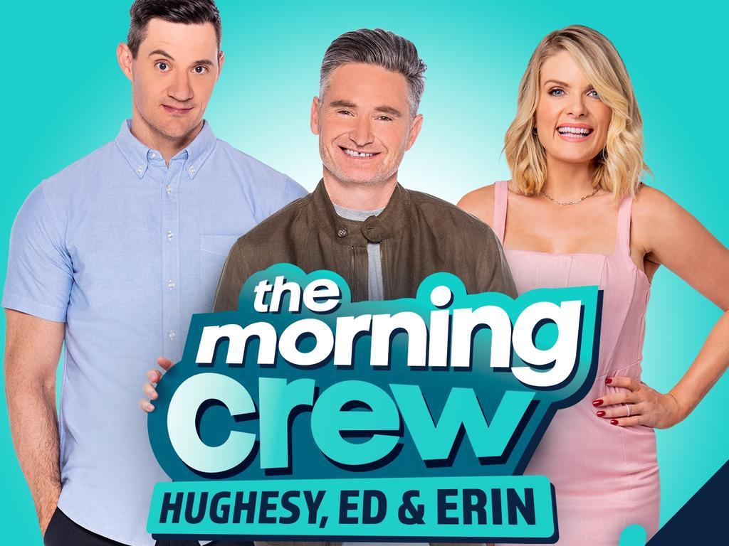 Hughesy, Ed and Erin broadcast on 104.1.