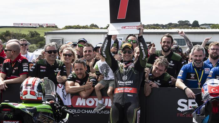 FIM Superbike World Championship, Round 01, 27 February - 1 March 2020, Phillip Island, Australia, Jonathan Rea, Kawasaki