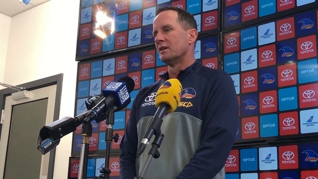 Crows coach Don Pyke ahead of game against Geelong