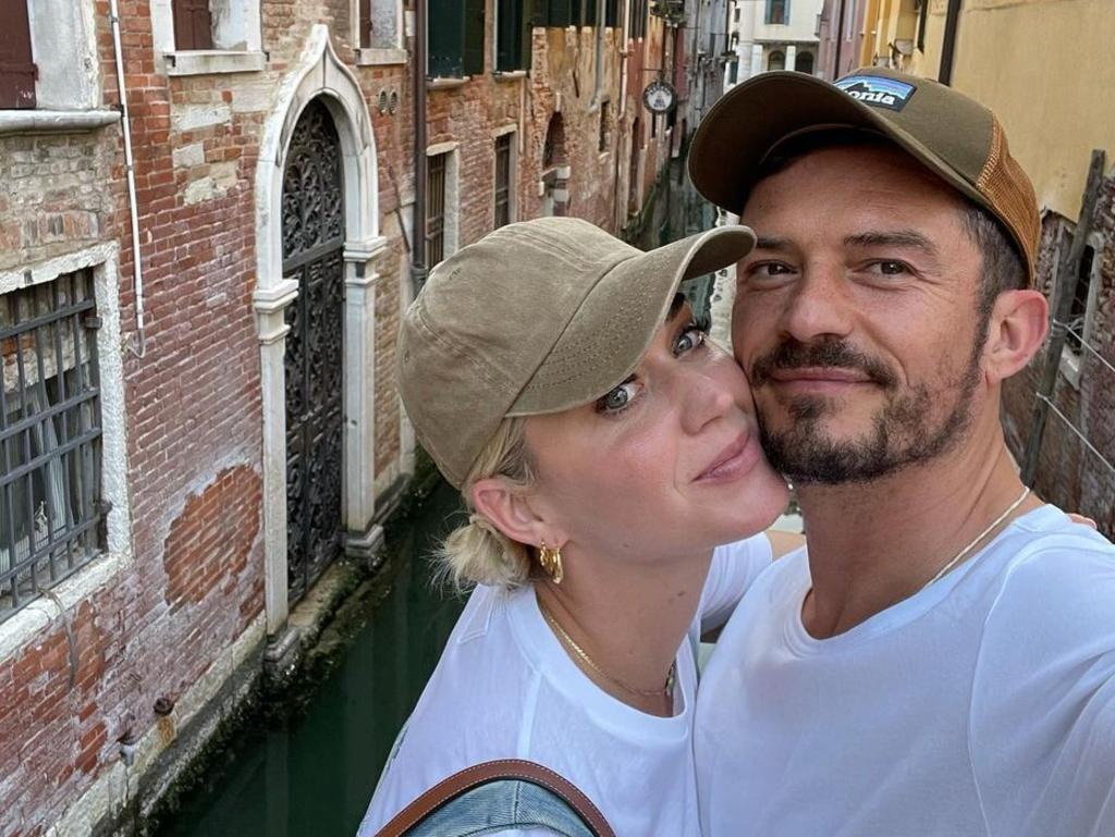 The singer holidayed in Venice, Italy, with her actor beau Orlando Bloom earlier this year. Source: Instagram