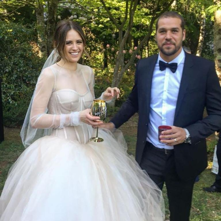 The couple secretly married in 2016.