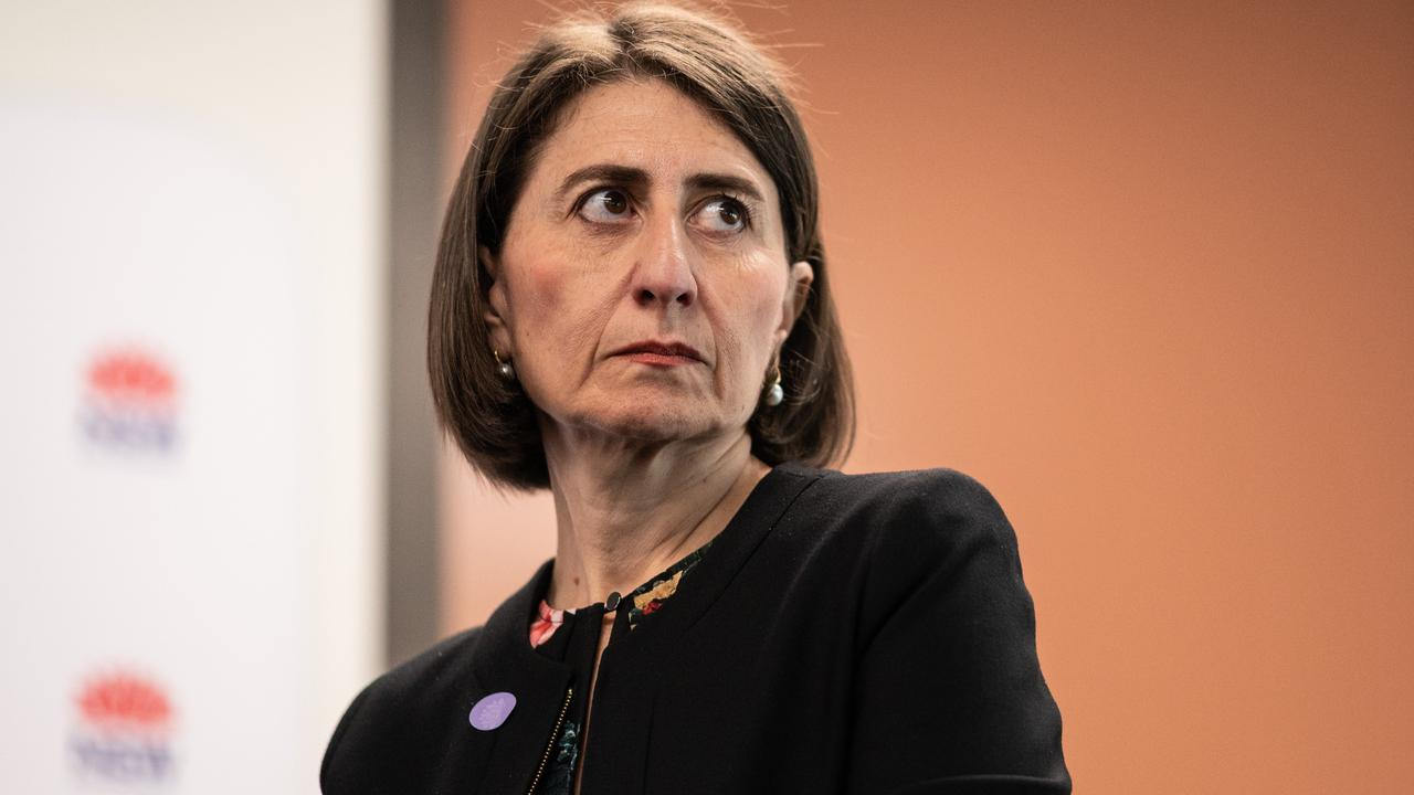 Premier Gladys Berejiklian says she will wait and see how eased restrictions go in Victoria before reopening the border with NSW. Picture: NCA NewsWire / James Gourley