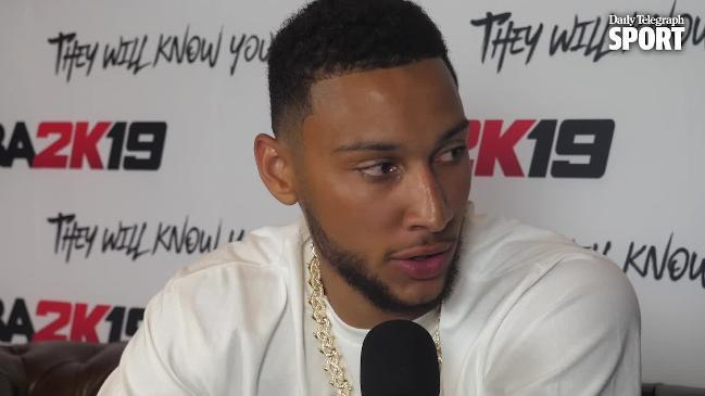 Ben Simmons on the NBL