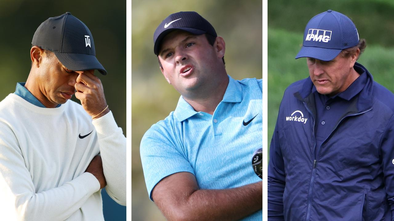 Carnage for Tiger Woods and Phil Mickelson - but joy for Patrick Reed - on day two of the US Open.