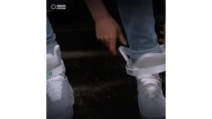 Nike self-lacing HyperAdapt 1.0 sneakers
