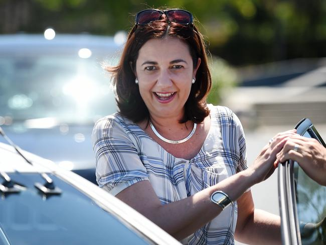 Queensland Labor leader Annastacia Palaszczuk could form government. Picture: Dan Peled / AAP Image