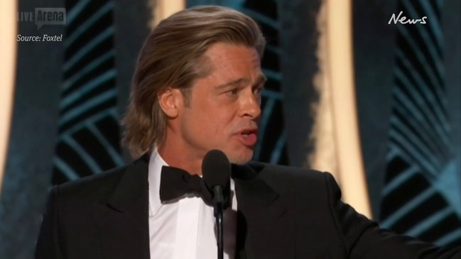 Golden Globes 2020: Brad Pitt talks dating in acceptance speech