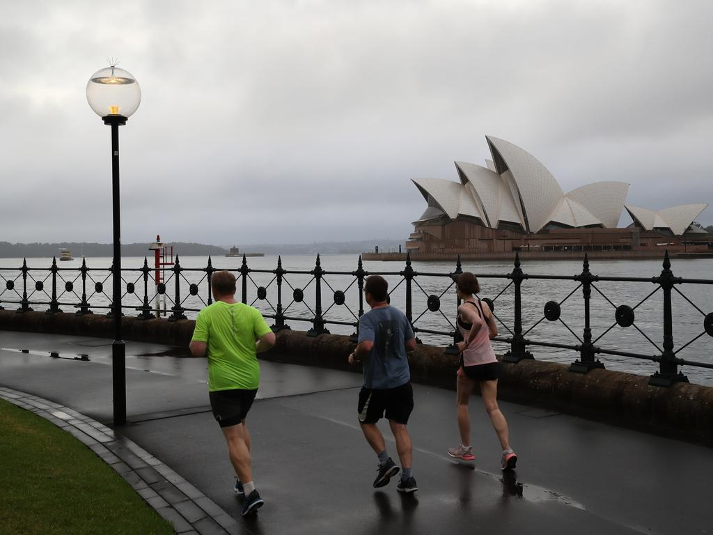 Sydney is the biggest loser, with people fleeing it at record rates. Picture: David Swift