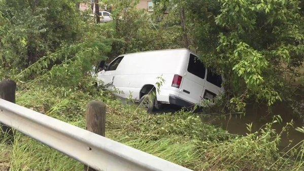 Six Family Members Drown in Van Submerged in Houston Floodwaters. Credit - Harris County Sheriff's Office via Storyful