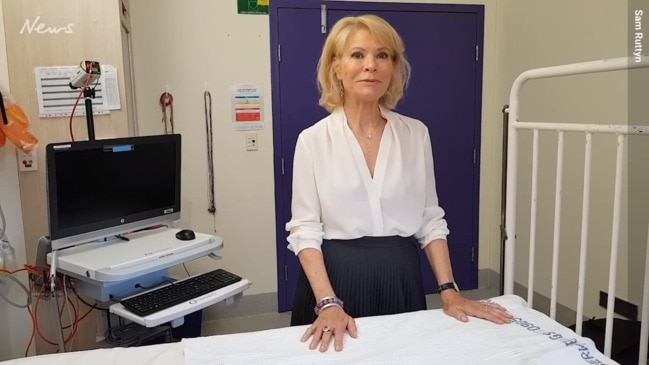Dr Carmel Harrington pictured at The Children's Hospital in Westmead today. Dr Harrington is leading the charge to find a cure for SIDS. A simple blood test may soon end the terrifying nightmare of Sudden Infant Death Syndrome by identifying those babies who are at risk.