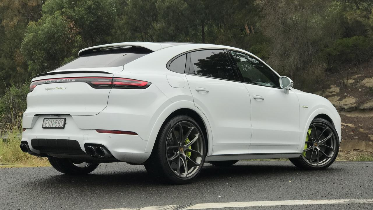 The Porsche Cayenne Turbo S e-hybrid is the brand's most powerful model.