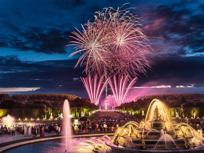 SEE A FIREWORKS SHOW AT VERSAILLES It's the most famous chateau in France and a visit to Louis XIV's epic palace is a no-brainer. But for something a little different, try visiting in the afternoon between April and October, and then stay on through the evening to experience the Fountain Night Show with choreographed music and a fireworks finale fit for a king. Picture: Nicholas Chavrance