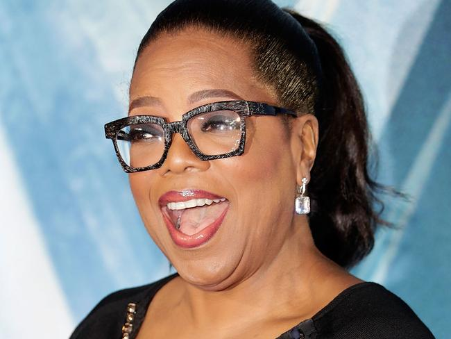 Oprah is the ace in the hole for Apple streaming. Picture: John Phillips/Getty