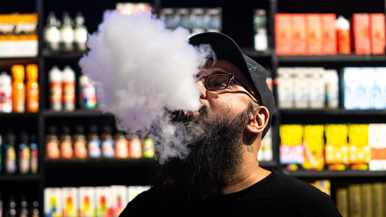 Vapers would have to get a prescription from their doctor to continue the habit. Picture: Che Chorley