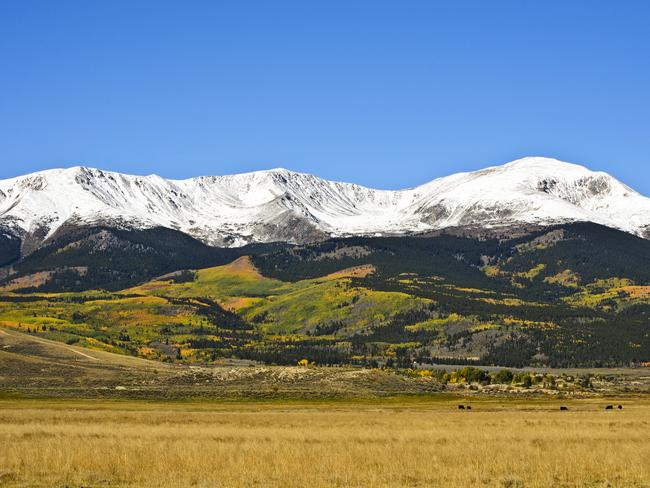 MT ELBERT, COLORADO, USA After a Rocky Mountain high? Then book a trip to Leadville, Colorado. This lofty (3,094m), legend-rich city is close to several 14ers (mountains over 14,000ft/4267m), including the Rocky Mountains', and the state's, highest, 4399m Mt Elbert. From Elbert's summit (a 14.5km-return hike), you'll stand above a sea of Colorado peaks and wilderness … the perfect place for singing a certain John Denver tune.