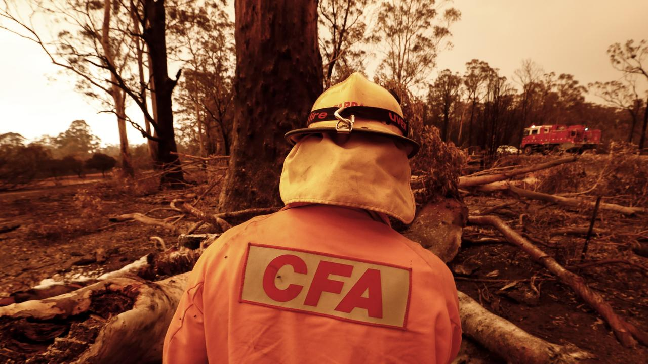 Bushfires last summer elevated the number of natural hazard claims. Picture: Darrian Traynor/ Getty Images
