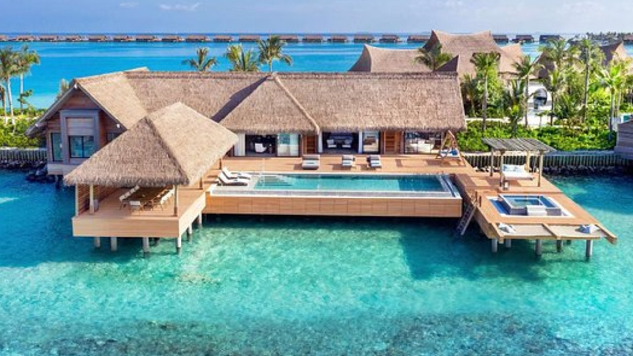 The Waldorf Astoria Maldives Ithaafushi won the best hotel Instagram page of 2021.