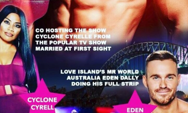 Pregnant Cyrell and Eden are doing a strip show and OMG