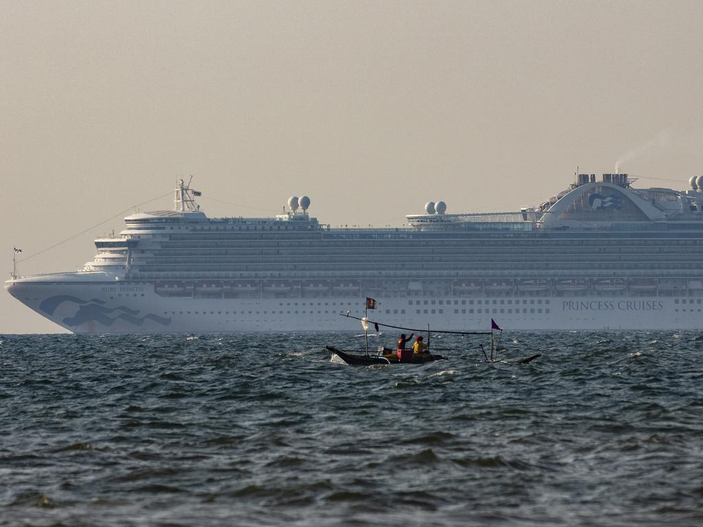 The cruise industry first shut down operations on March 13. Picture: Ezra Acayan/Getty Images.