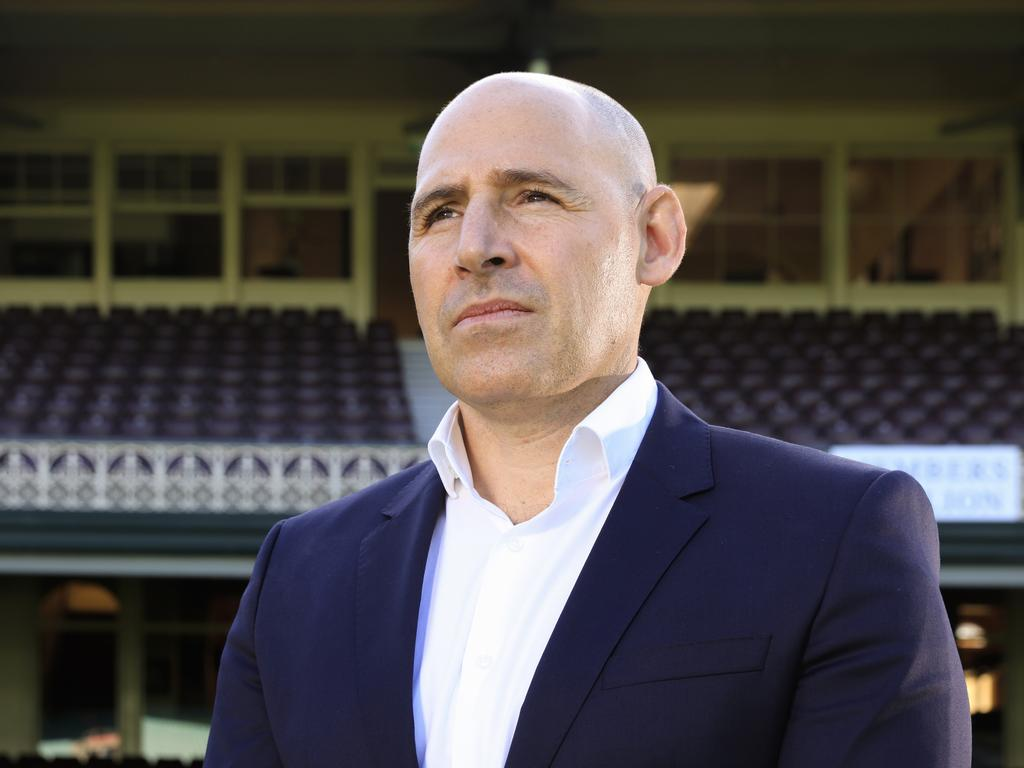 Cricket Australia CEO Nick Hockley has thrown his support behind Langer despite a recent poor run of form. Picture: Mark Evans / Getty Images