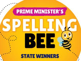 2021 Prime Minister's Spelling Bee - artwork to announce state/territory winners. For Kids News