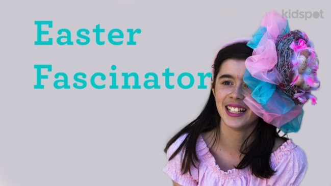 Here's a fascinating twist on the Easter bonnet. We figured out how to make an elegant Easter themed fascinator that is surprisingly easy to make. People, warm up your glue guns. Let's get making.