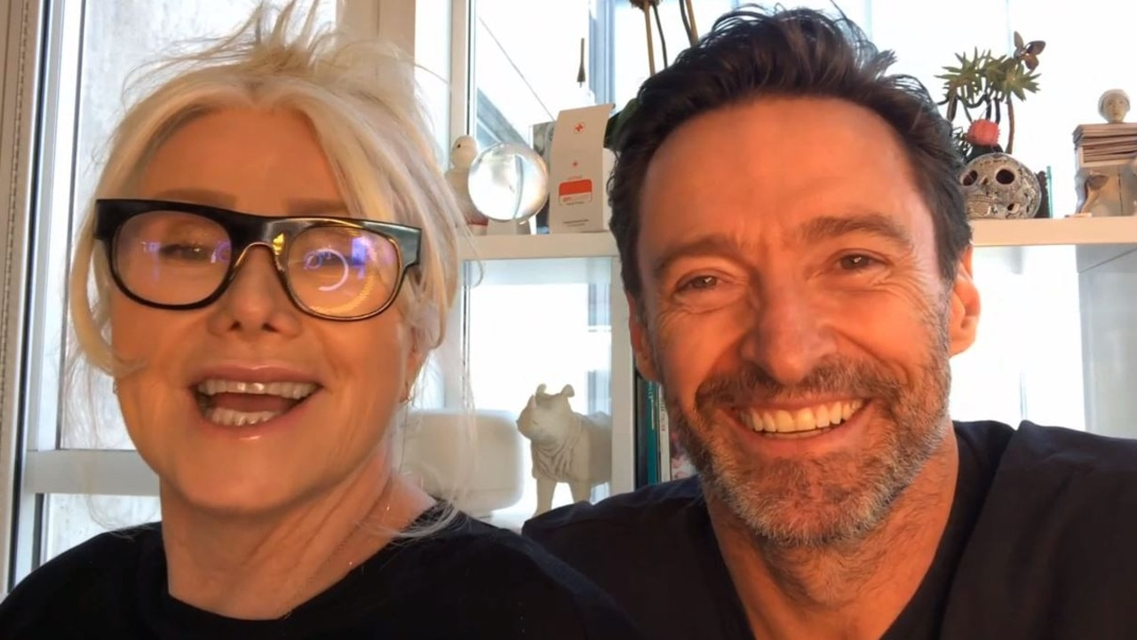 Deborra-Lee Furness and Hugh Jackman will join the big gig. Picture: Supplied.
