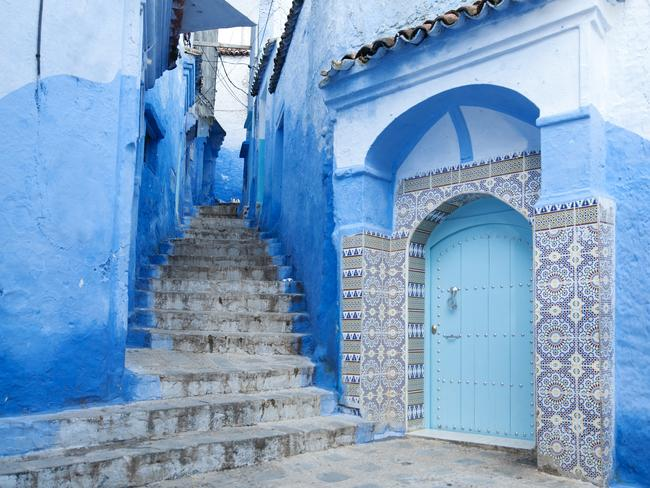 97. CHEFCHAOUEN, MOROCCO The blue hues of Chefchaouen look like they were purpose-painted for Instagram. No one actually knows exactly why the buildings and streets of this mountainside town are blue, but damn they look good!