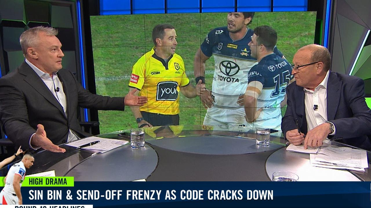 Paul Kent and Phil Rothfield went head to head on NRL 360.