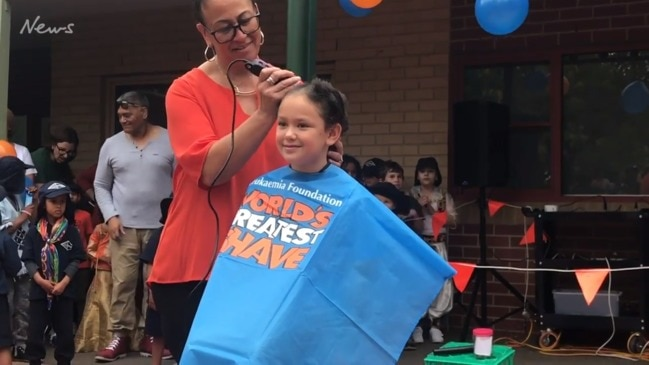 Hoppers Crossing girl shaves her head for charity