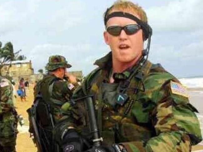 Former Navy SEAL Robert O'Neill who says he killed Osama bin Laden.