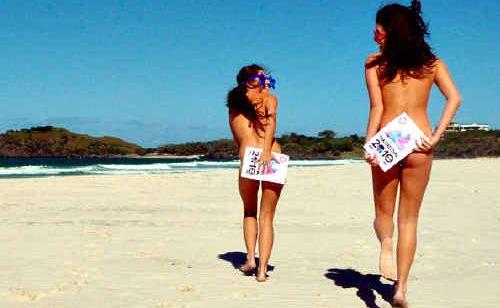 On nude beach teen The Wet
