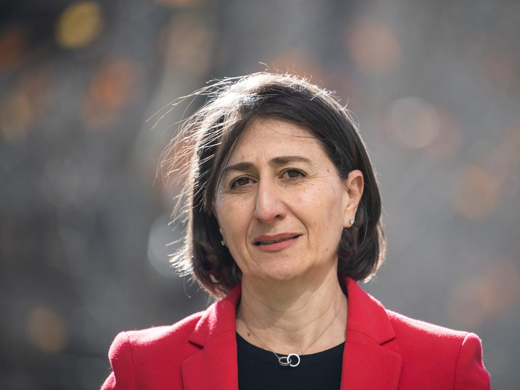 NSW Premier Gladys Berejiklian speaks to the media during a press conference at the NSW Ministry of Health in Sydney, Friday, June 5, 2020. Picture: James Gourley/AAP