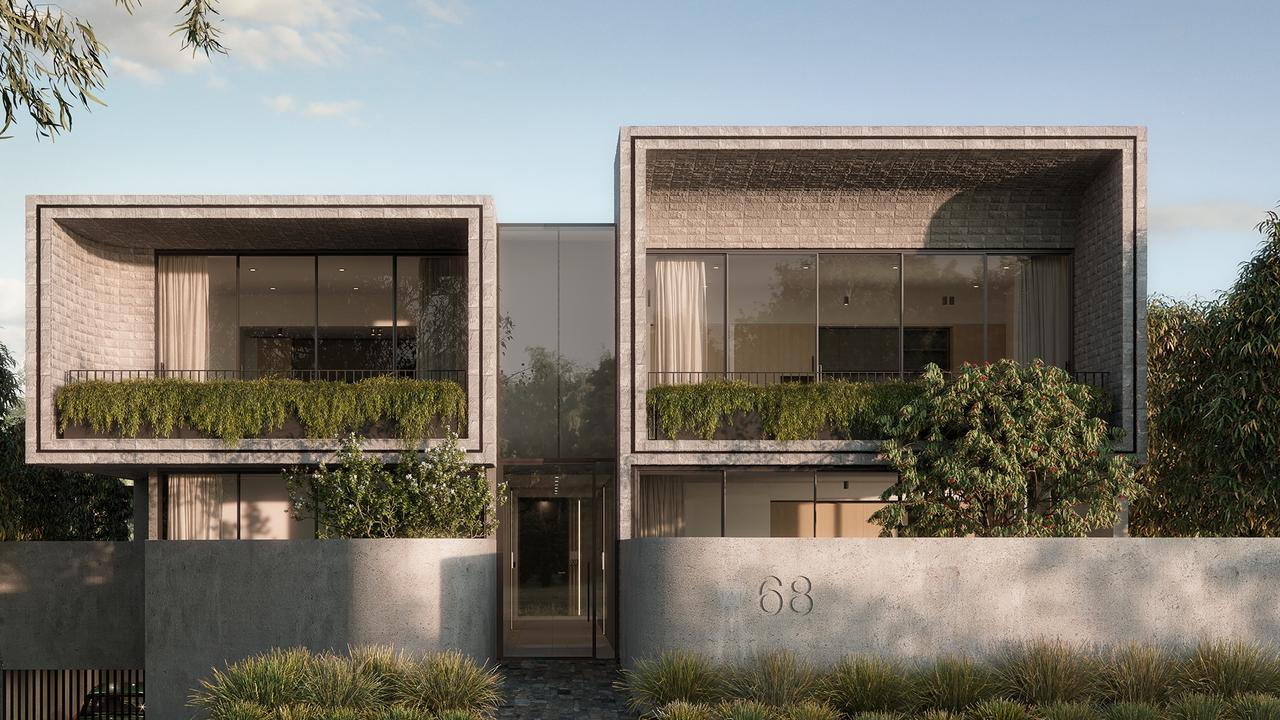 The Lumiere Development in Black Rock by Lowe Living has been contoured to reflect the nearby wreckage of HMVS <i>Cerberus</i>.