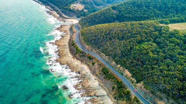 "GREAT OCEAN ROAD, VIC ""It's not so hidden but somewhere I think we take for granted, the Great Ocean Road. It's such a beautiful drive from Torquay right around to Port Campbell."" - Aaron Finch"