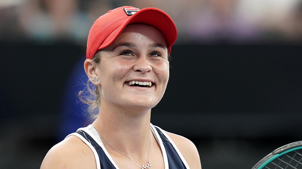 Ash Barty: Young Australian of the Year.