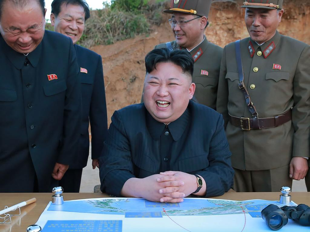 North Korean leader Kim Jong-un has been the subject of rumours about his health lately. Picture: KCNA