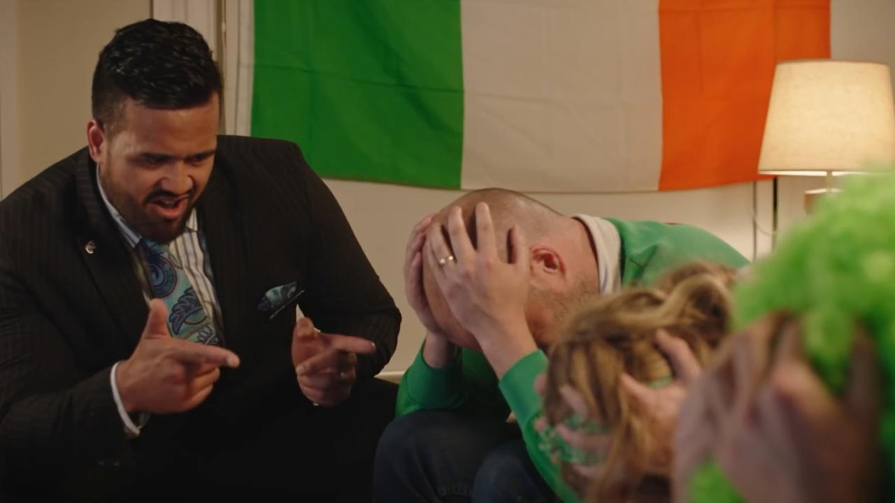 Air New Zealand mocks Ireland fans in hilarious safety tips ad ahead of quarterfinal