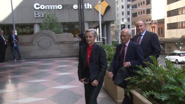 RAW:Naturopath Marilyn Pauline Bodnar arrives at a Sydney court