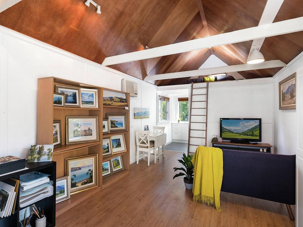 The Berowra Heights property has its own studio with loft, kitchen and bathroom
